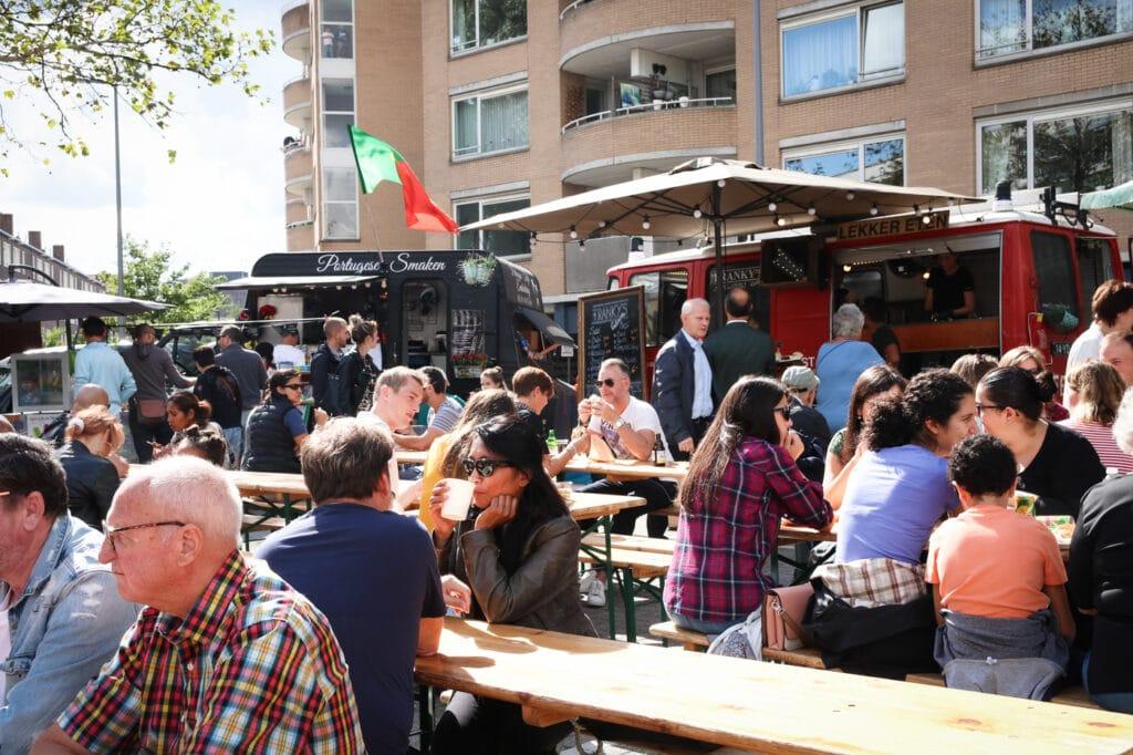 Rotterdam Proeft Boulevard Kralingen festival