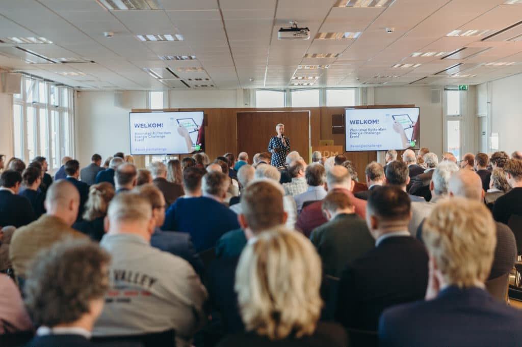 Online en offline content vormen de basis voor het succes van de Woonstad Rotterdam Energie Challenge