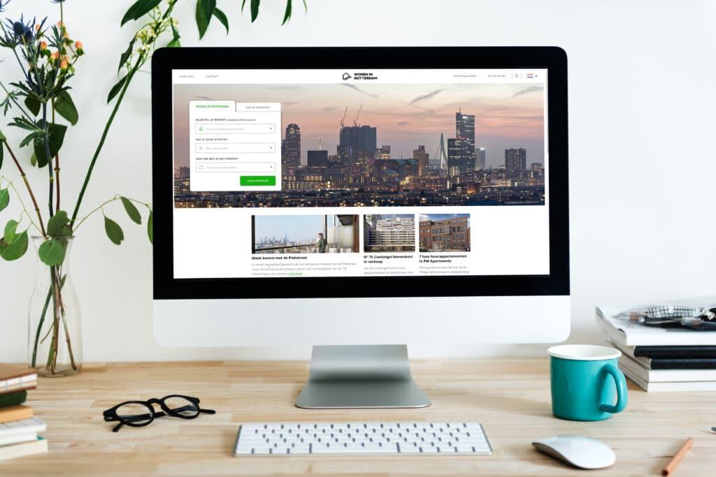 Redesign website Wonen in Rotterdam